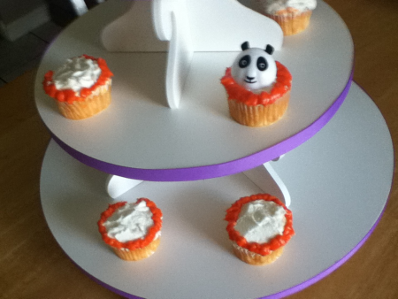 The Cupcake Tower Kung Fu Panda