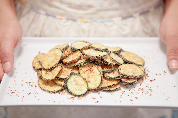 Zucchini Parmesan Crisps, an Ellie Krieger Recipe