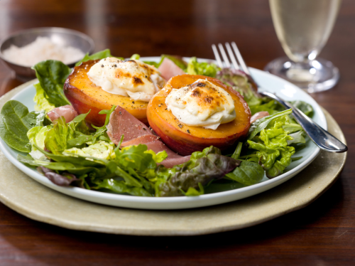 Roasted Peach and Nectarine Salad Recipe