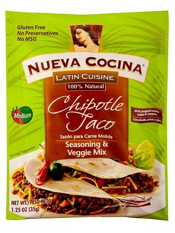 Nueva Cocina Chipotle Taco Seasoning