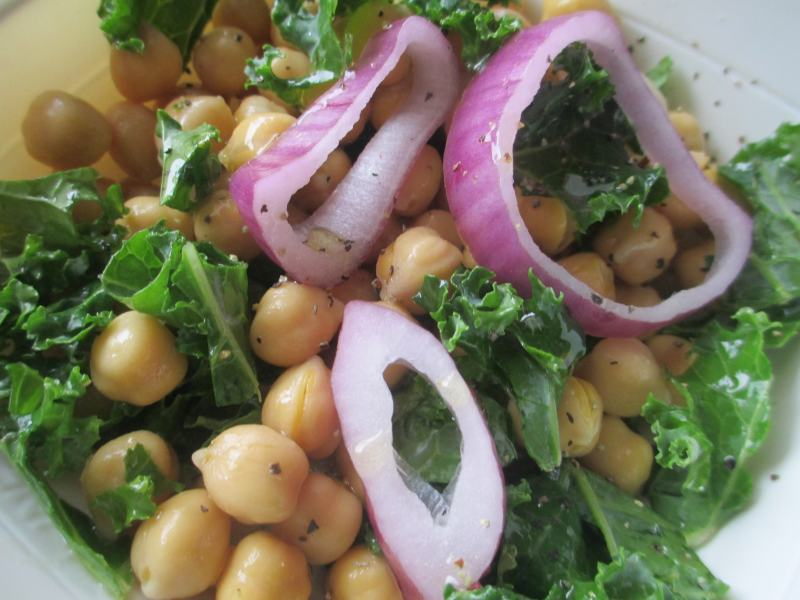 Chickpea and Kale Salad