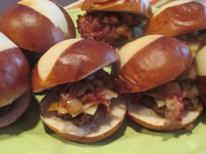 Labriola Pretzel Slider Buns: For Hamburger Sliders You'll NEVER Forget