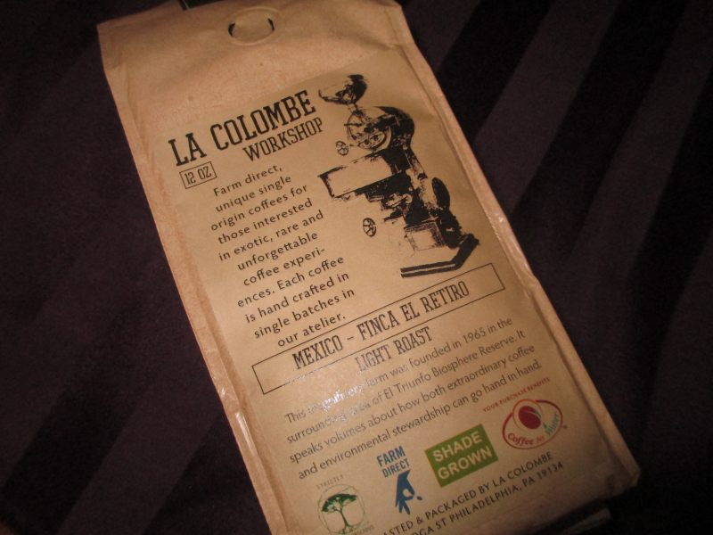 La Colombe Coffee: Mexico