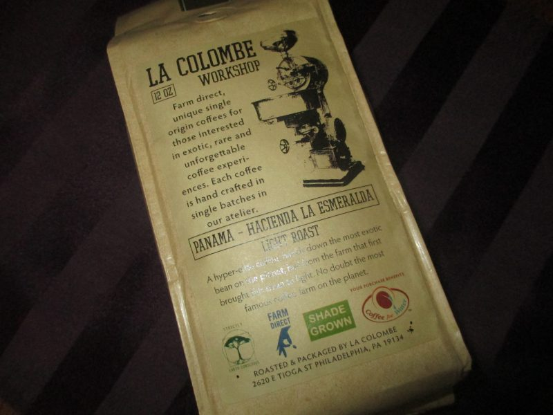 La Colombe Coffee Panama - Hacienda La Esmeralda