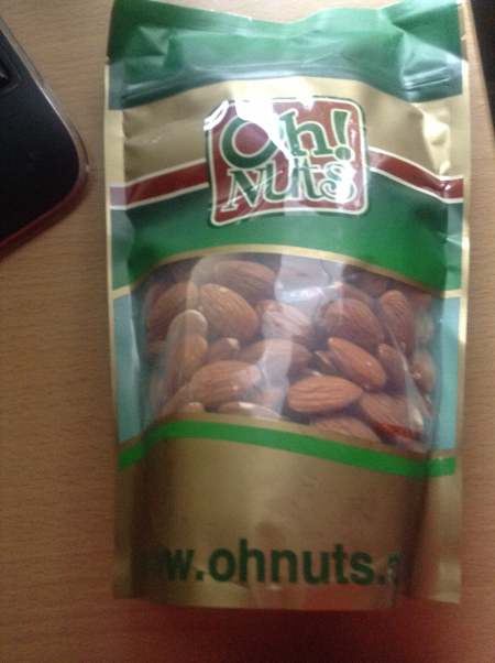 Oh Nuts Almonds