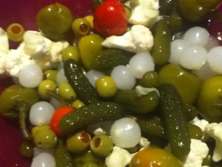 Relish Tray Salad