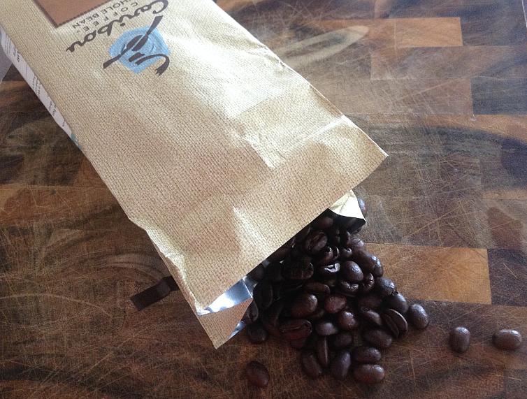 Caribou Coffee, Mahogany