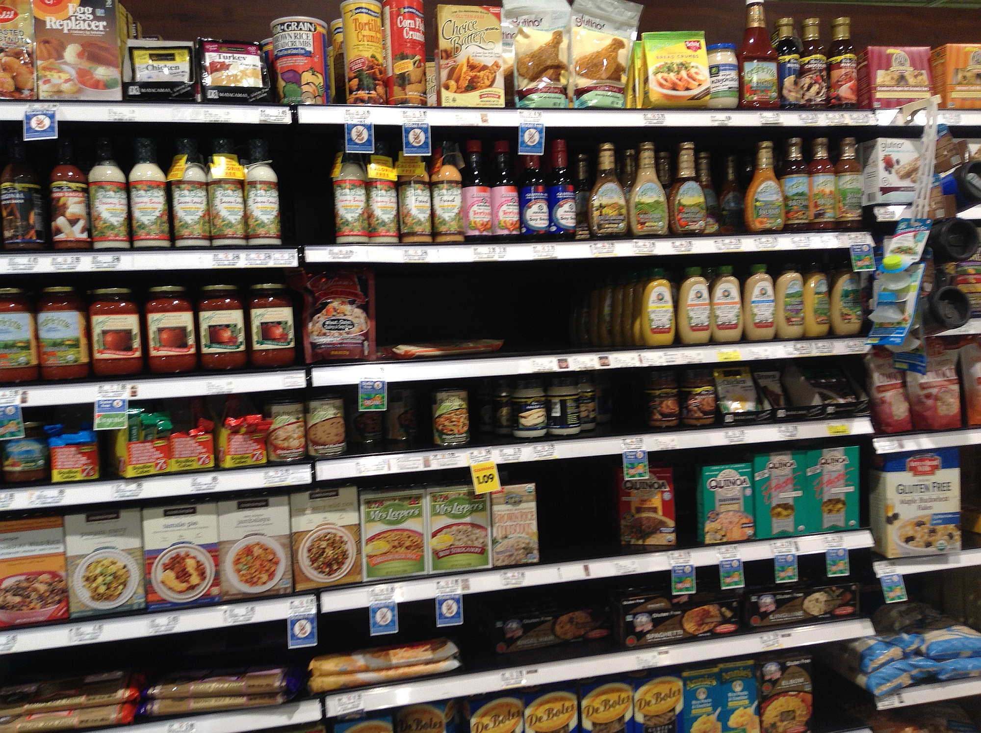 Schnucks -  Newburgh, Indiana (great Gluten Free Aisle)