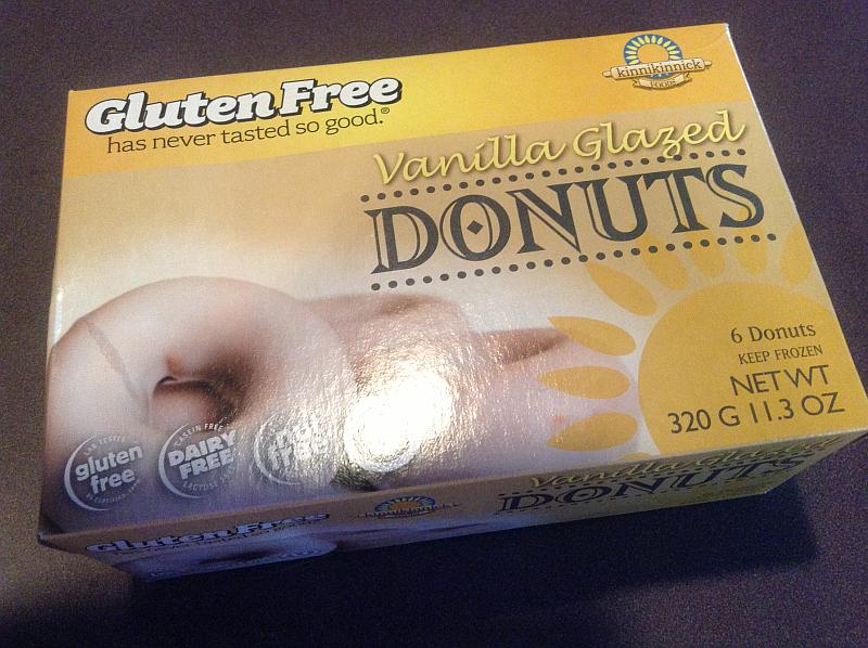 Kinnikinnick Gluten Free Donuts