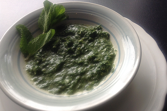 Classic Green Mint Chutney Recipe