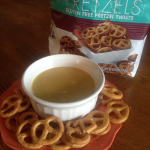 Glutino Gluten Free Pretzels and Tangy Honey Mustard Dip