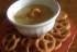 Glutino Pretzels and Tangy Honey Mustard Dip