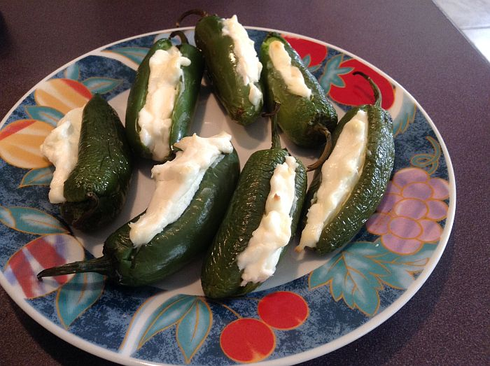 Cream Cheese Stuffed Jalapenos