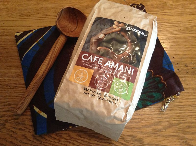 One Cup Fair Trade Coffee Gift Set from World Vision