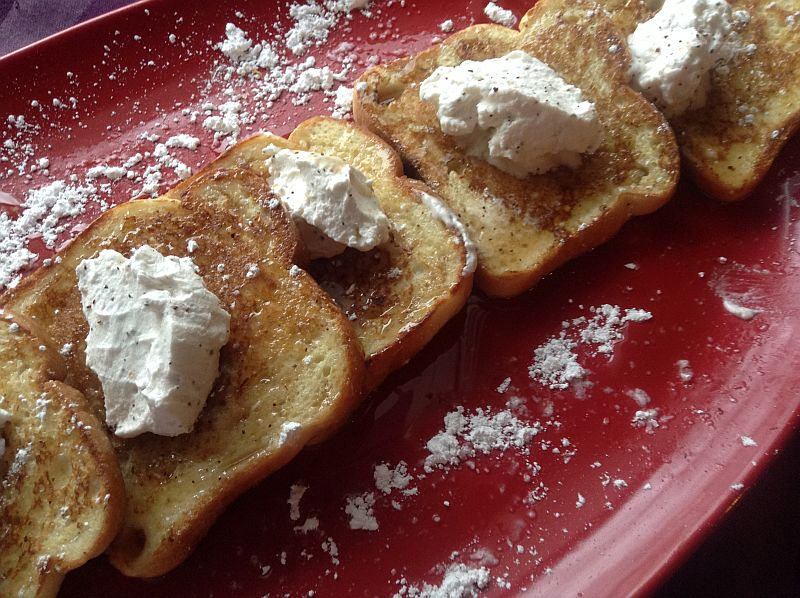 Gluten Free French Toast with Almond Coconut Milk