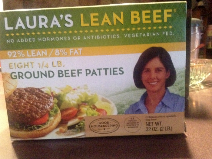 Laura's Lean Beef Patties
