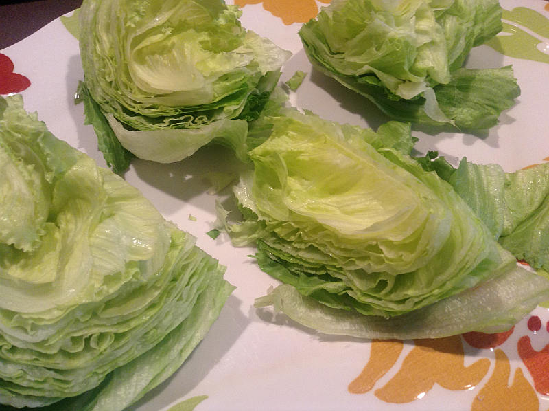 Iceberg Lettuce for Wedge Salad