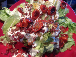 Wedge Salad, Starring Roasted Tomatoes