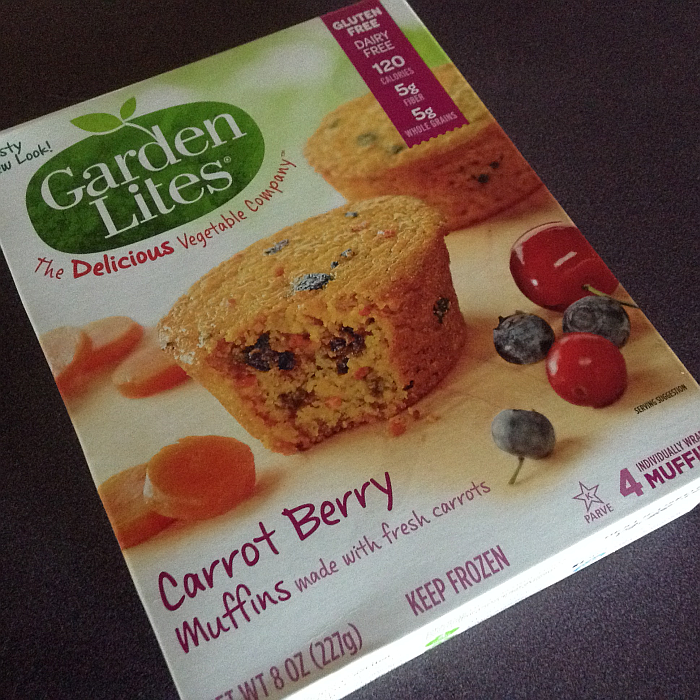 Garden Lites Carrot Berry Muffins