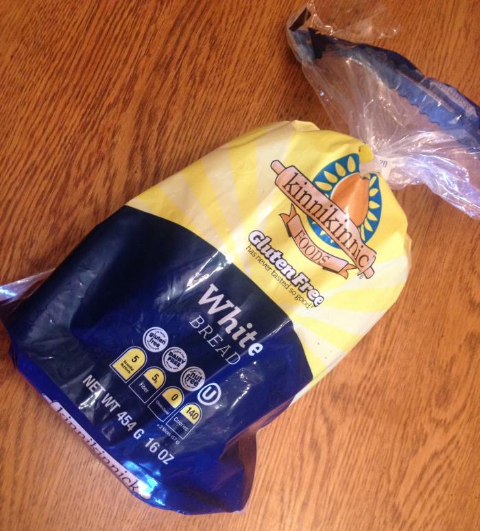 Kinnikinnick Gluten Free Bread