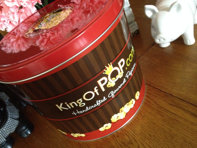 King of Pop Gourmet Patriotic Popcorn