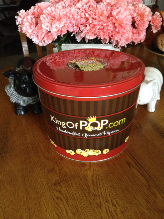 King of Pop Patriotic Popcorn