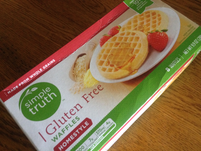 Simple Truth Gluten Free Waffles