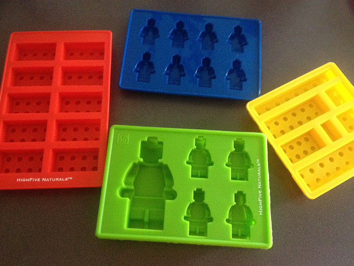 HighFive Naturals Lego-Style Candy Molds