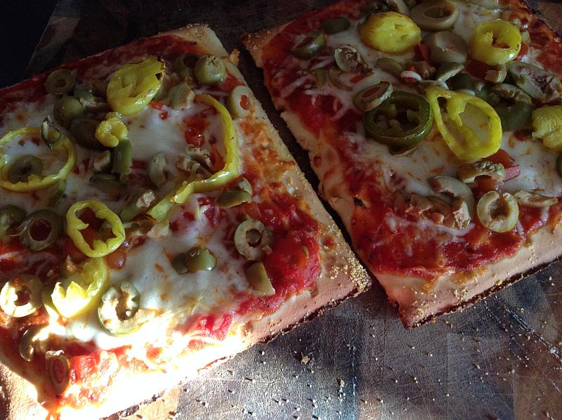 KinniKinnick Pizzas