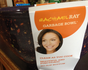 Rachael Ray Garbage Bowl… Wouldn't Take Anything for Mine