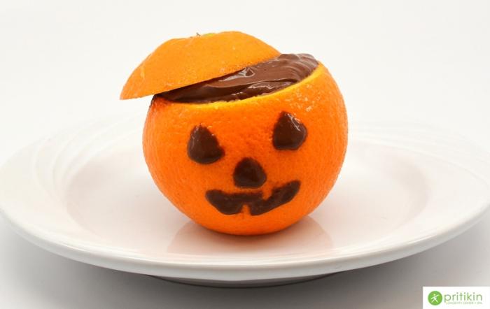 Chocolate Mouse Jack O'Lantern