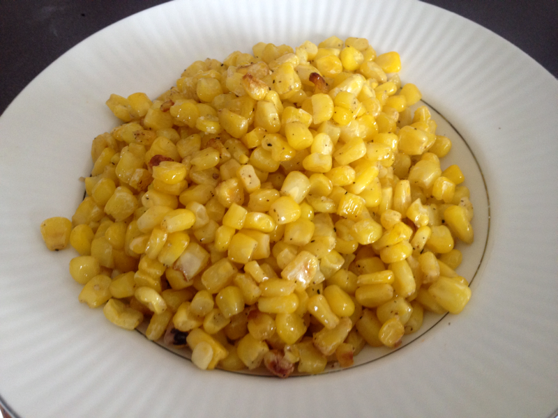 Roasted Frozen Corn