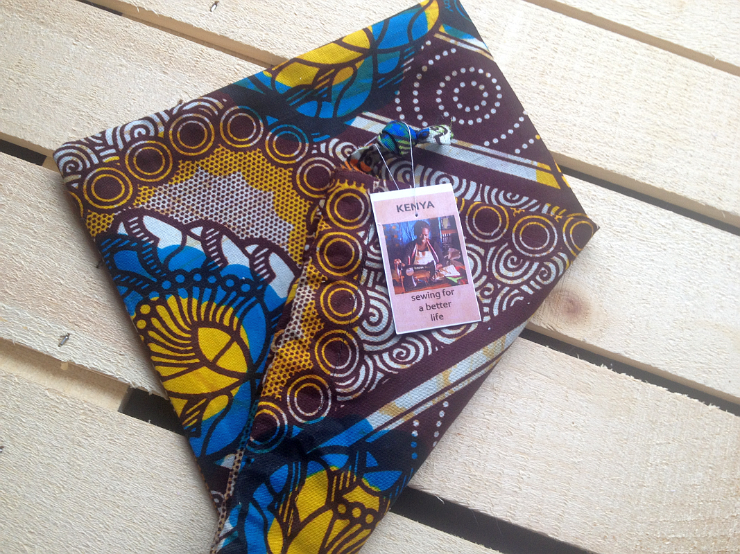 World Vision's Handcrafted Gifts: Hand Sewn Bag from Kenya