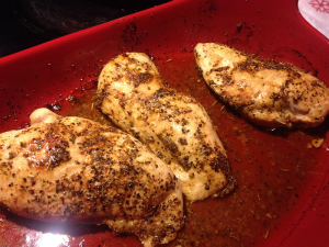 Basic Oven Baked Chicken Thighs Recipe