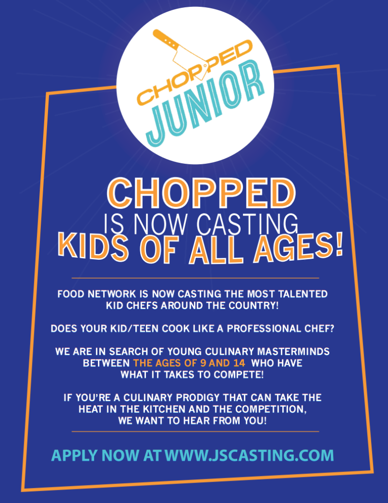 Chopped Jr Casting