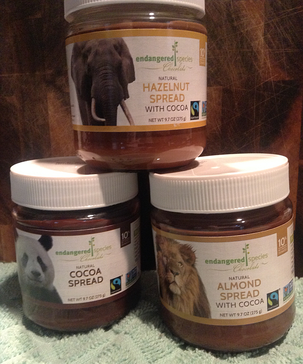 Endangered Species Cocoa Spreads