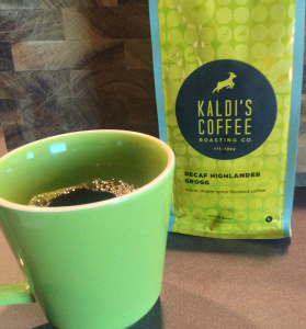 Coffee Review: Decaf Highlander Grogg from Kaldi's Coffee