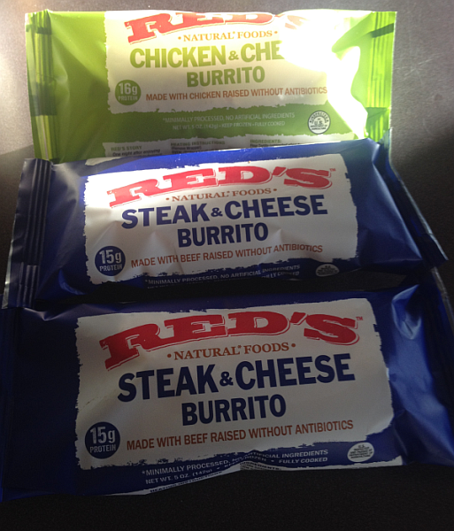 Red's Frozen Burritos