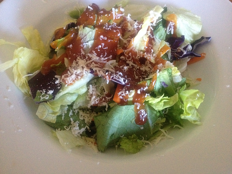 Tossed Salad with Homemade French Dressing