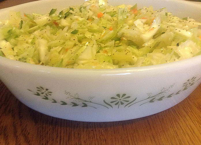 Best Coleslaw Recipe: Kentucky Coleslaw