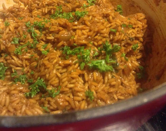 Gluten Free Version of Texas Roadhouse Seasoned Rice