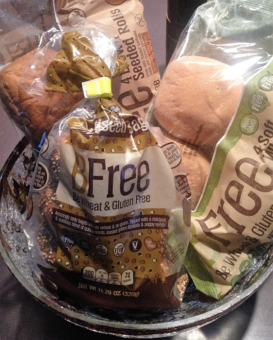 BFree Gluten Free Bread, Rolls, and Bagels