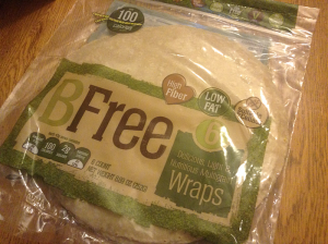 Review: Gluten Free Wraps from BFree (Gluten Free, Wheat Free, Dairy Free, and Egg Free)