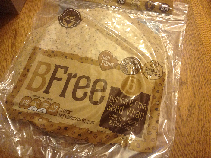 BFree Gluten Free Wraps - Quinoa and Chia Seed