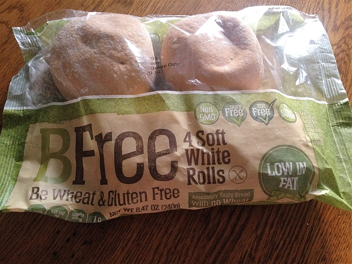 BFree Wheat and Gluten Free White Rolls