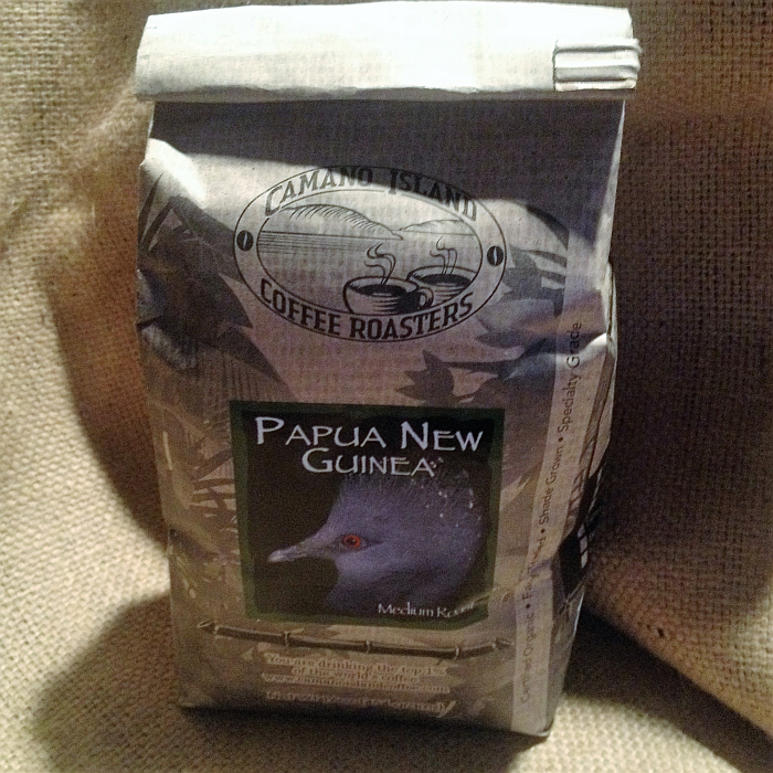 Camano Island Coffee Roasters Papua New Guinea Coffee