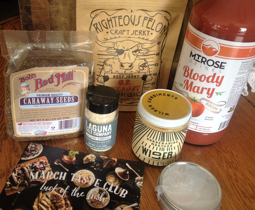 "Eat Feed Love Taste Club Box: March ""Luck of the Irish"""
