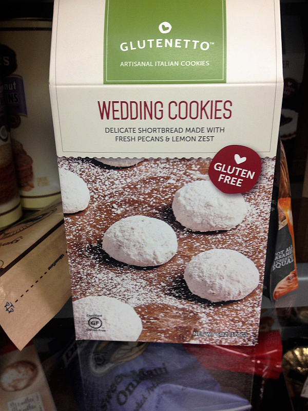 Glutenetto Gluten Free Wedding Cookies