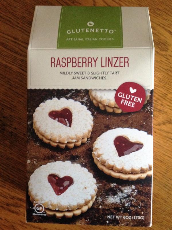 Glutenetto Raspberry Linzer Gluten Free Cookies