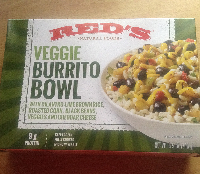 Red's Gluten Free Veggie Burrito Bowl